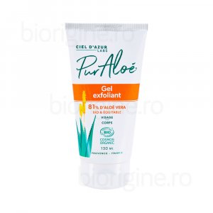 ciel-d-azur-gel-exfoliant-bio-cu-aloe-vera-cosmetice-naturale-organice-bio